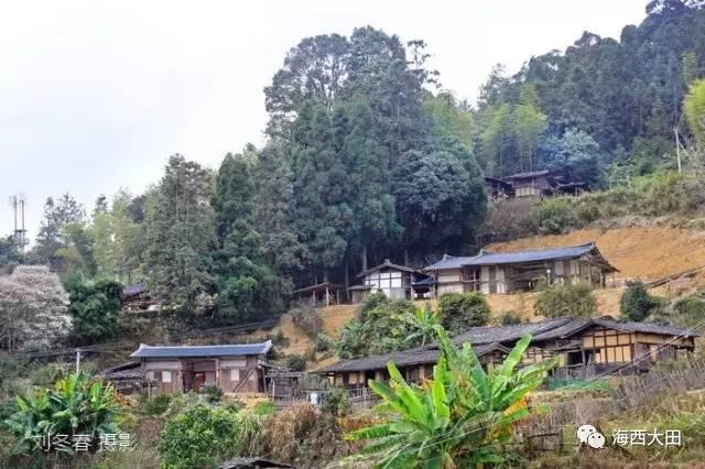 三明这座群山中的中国传统村落竟如此美丽_人物